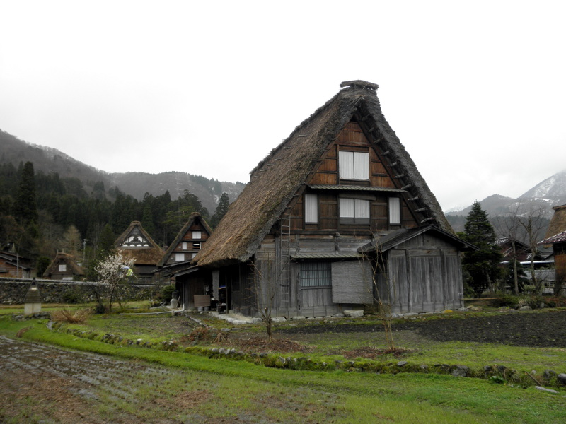 innenansicht traditionelles haus historisches haus nightview - Haus Japan